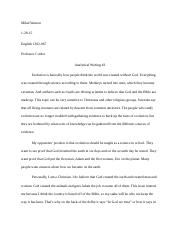Analyical Writing #2.docx
