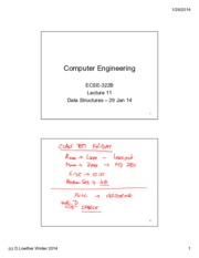 Lecture 11 Data Structures 29 Jan 14 annotated