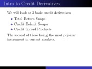24.Credit Derivatives
