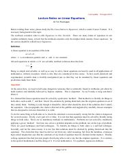 Lecture Notes on Linear Equations.pdf