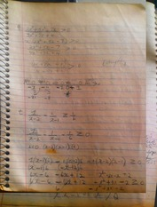 MATH 101 Notes on Fraction-Functions
