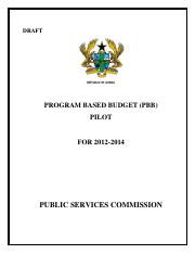 1 GHANA MINISTRY PUBLIC SERVICES COMMISSION(1)