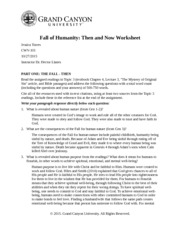 cwv 101 finding scripture god and creation worksheet and journal 3 According to the bible and the christian worldview, jesus was fully god and fully human interacting with the readings, especially philippians 2:5-11 and hebrews 1:1-3, explain why this teaching of jesus' full divinity and full humanity is important to christianity.