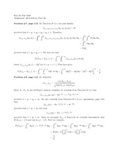 probablility Assignment 6 Solutions