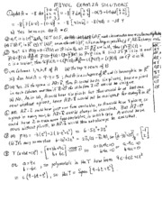 Exam 2A Solutions(1)