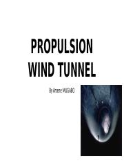 PROPULSION WIND TUNNEL.pptm