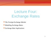 4.BA 361 Lecture Four Exchange Rates v5 STU