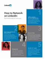 How to Network on LinkedIn.pdf