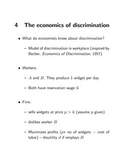 Econ 101A Lecture 1 Notes