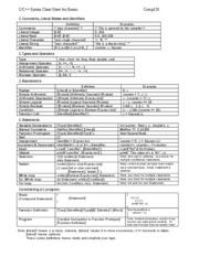 comp120_C_Syntax_Exam_Cheat_sheet