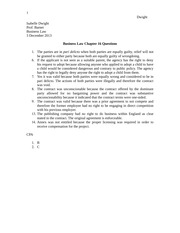 Chapter 16 Questions