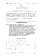 2. Electrical Safety
