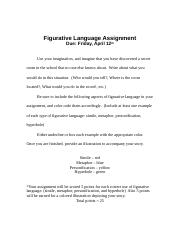 figurative language Paragraph Assignment (1).doc