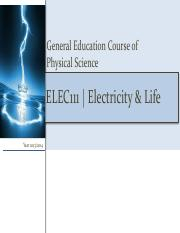 01.Electricity  Life 01