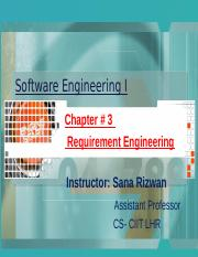 Chapter 3 -- Requirement engineering (Week 4 & week 5).pptx