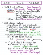 Odd degree vertices theorem review