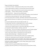 Chapter One Worksheet diet and nutrition.doc.docx