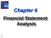 ch06 Financial analysis