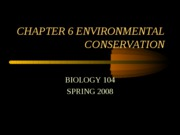 geo coservation Chapter6