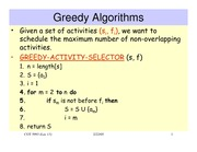 lecture 4 on Introduction to Algorithms