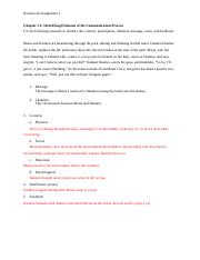 Homework 1 Chapter 1 Comm Process.docx