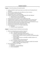 Chapters 1 and 2 Study Guide