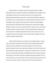 Muhammad ali essay