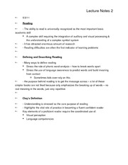 learning disabilities lecture notes 2