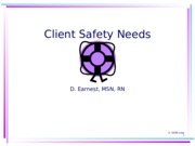 Client_Safety Power Point