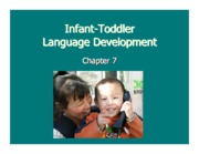 Ch 7 Toddler Language Development