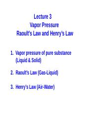 3 ES203 Vapor Pressure and Henrys Law VK 020717.pptx
