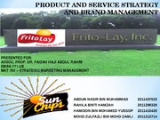 Frito Lay Sunchip- Double Dons Group ppt draft (1)