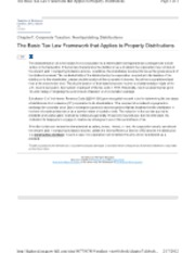 7-2 The Basic Tax Law Framework that Applies to Property Distributions