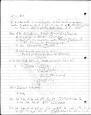 Probability Notes Continuous Random Variables