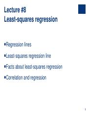 Lecture #8 - Simple Linear Regression.pdf