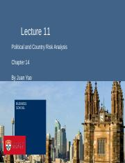 lecture11  countryrisk2014