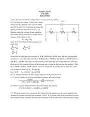 Answers for Text Problems (CHM3640)