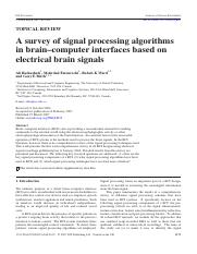 A_survey_of_signal_processing_algorithms_in_BCI_based_on_electrical_brain_signals.pdf