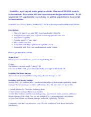 NodeMCU Lolin V3 Esp8266 WiFi pdf - NodeMcu açık kaynak kodlu
