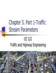 ch05_part 1 - traffic_stream_parameters