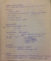 Econ 129 Notes- stages of growth - Rostow