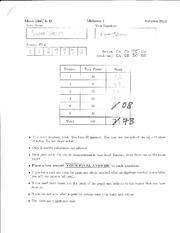 Math 124 Midterm