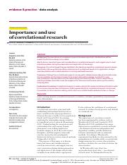 Importance and use of correlational research.pdf