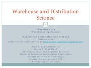 Week_10_Lecture_2_Warehouse_and_Distribution_Science