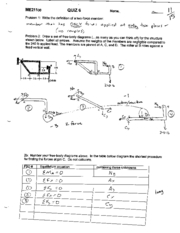 Quiz6 mechanical eng ME211 spring06
