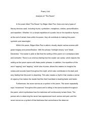 analysis of annabel lee his love for annabel lee for their love  2 pages analysis of the raven