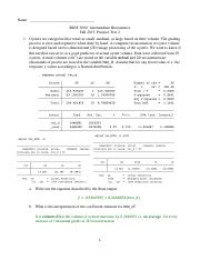 Practice Test 2 Solutions - Fall 2015