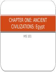 CHAPTER ONE EGYPTIANS HIS 101 (2)