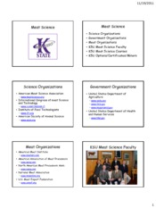 25 KSU Meat Science - Meat Industry Promotoin Science