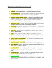 MKT602 Terms to Know.doc
